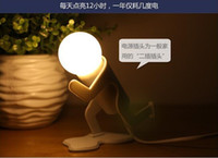 Wholesale New LED Doulex Night Lamp Lovely Figure Energy Saving LED Wall Lamp Night Light Hot TV products