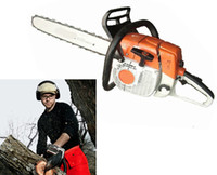 Wholesale Chainsaw ST381 Garden Tools MS381 Chain Saw Inch Guide Bar Air Cooling CC KW Two Stroke Hand Tools Two In One Box excellent_sale