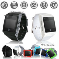 Wholesale Portable Large Memory K Watch Cell Phone H2 Single SIM GSM Quad Band with quot Touch Screen Bluetooth Smart Watch for iPhone S5 Samsung