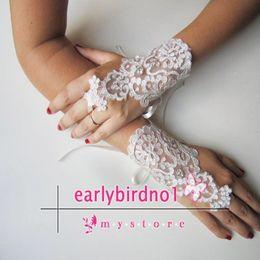 Wholesale Bridal Gloves Bridal Accessories Ivory gloves Unigue Bridal Gloves Svarovski Crystal Wedding Gloves Ivory Lace Gloves
