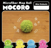 Wholesale Mocoro Cleaning Robot Microfiber Mop Ball Mini Vacuum Cleaner Sweeping Robot Four Colors Mop Ball Hot Sale