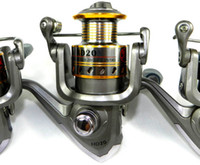 Saltwater   High Power Gear Spinning fishing reels Hot Sale metal Spinning Reel 2000 HD20 Fishing Reels Aluminum 3BB Fishing Tackle Coils