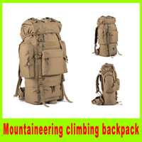 Wholesale 201408 New L Military Shoulder Tactical Backpack travel bag multifunctional Airsoft tactical backpacks Rucksacks Sport Bag A252X