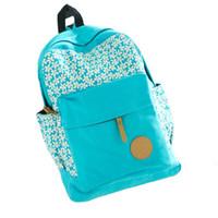 Wholesale S5Q Fashion Womens Canvas Satchel Travel Shoulder Bag Backpack School Rucksack AAADSV