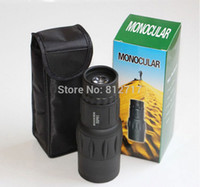 Yes - 16x52 Wholesale-Free Shipping Night vision 16X52 66M 8000M Concert telescope Monocular Telescope Sports Hunting Camping Spotting Scope