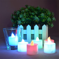 electronic candle - Electronic Candle Night Light LED Electronic Candle Led Tea Light Lamp LED Smokeless Candle Light Party Wedding Christmas Festival Candle