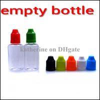 Пустые бутылки 10ml Пустые бутылки для E сигареты иглы бутылки пластиковые крышка Защита от детей бутылки капельницы E Жидкие бутылки Нефть бутылки