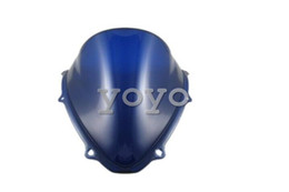 Wholesale Motorcycle Tinted Blue Windscreen Windshield For Suzuki GSX R K6