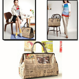 Wholesale-New Retro Vintage Style Womens Handbag Tote Shoulder Bag free shipping