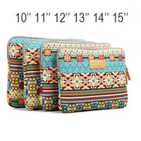 Wholesale Bohemia laptop sleeve case Pop fashion inch computer bag notebook for MacBook z