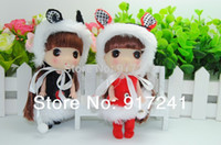Girls Birth-12 months Plastic Wholesale-Brand new high quality Fashion cute 12cm ddung doll Toy Mobile phone Bags Ornament gift for girls child Bag pendant