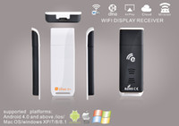 Wholesale A2W HDMI EZcast Miracast Dongle Smart TV Stick TV Receiver Wireless Display Media Sharing DLNA Airplay For Android IOS Windows