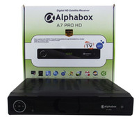 Wholesale original OPENBOX Alphabox A7 PRO HD hd IPTV Supported Full HD Original DVB S2 Satellite Receiver SKYBOX A6
