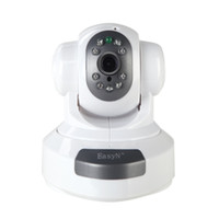 Wholesale EasyN Wireless WiFi IP Camera HD MP CMOS CCTV Security System Alarm PT webcam support mobile S144