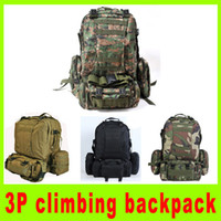 Wholesale 3P climbing backpack Army special forces military backpack bag shoulder bag combination high quality christmas gift A260L