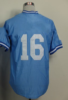 Wholesale Royals Bo Jackson Blue Throwback Baseball Jerseys Sportswear Cool Base Adult Authentic Jersey Mix order Size