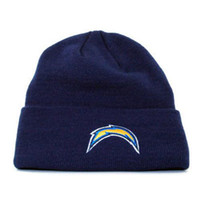 Wholesale Football Team Beanie Hats of Chargers Fashion Knitted Hats Unisex Beanies Comfortable Sports Caps Hip Hop Streetwear Warm Beanie