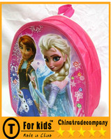 Wholesale hot sale FROZEN School Bags Frozen backpack Frozen shoulder bag Elsa Anna school satchel Snow White queen single children cm high bags