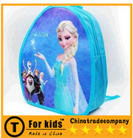 Backpacks Denim Men hot sale FROZEN School Bags Frozen backpack Frozen shoulder bag Elsa Anna school satchel Snow White queen single children small bags