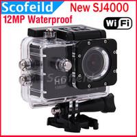 mini car camera - New SJ4000 WiFi Waterproof Action HD Camera Mini Camcorder Gopro style MP P H Inch Degree Wide Angle CAR DVR