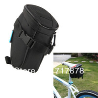 Wholesale Durable Portable Cycling Bicycle Saddle Pouch Tail Seat Storage Bag Black New
