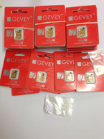 Wholesale GEVEY Ultra S Unlock sim Card for ios8 X ios5 to X x X for iPhone S New gpp