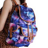 Wholesale Galaxy Printing Backpack School Rucksack New Arrival Hot sale sy0414