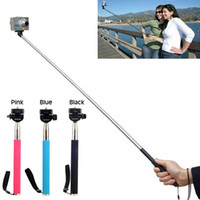 Aluminum Alloy aluminum rod holders - Extendable Handheld Monopod Pole Grip holder Handle Rod fr Gopro Hero SHPG