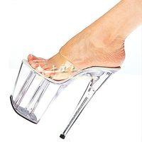 Wholesale 2013 women s shoes crystal shoes cm ultra high heels sandals elevator platform performance shoes