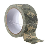 Wholesale Army Camo Fabric Tape Gun Stealth Wrap Desert Waterproof Insulated Cloths Fishing Shooting Hunting