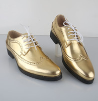 Wholesale Hot Sell Men Shoes Groom wedding shoes party shoes dress shoes Business shoes DH OK