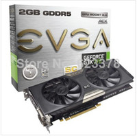 Wholesale Brand New GTX GB Dual SC w EVGA ACX Cooler MHZ MHZ bit DDR5 Graphics Card by DHL
