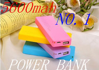 Power Bank Perfume Power Bank Power Bank 5600mah Wholesale - - HOT -thin 5600Mah 5v 1a lithium universal portable 5600 mah power bank for samsung iphone HTC Nokia 5
