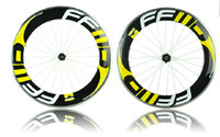 Wholesale FFWD F9R mm C carbon wheels road bike wheelset clincher alloy brake surface with novatec Hub sram bicycle wheel