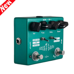 online shopping Mini Size Good Durability Overdrive Guitar Effect Pedal Crazy Cacti Aluminum Alloy Housing Caline CP Guitar Accessories I382