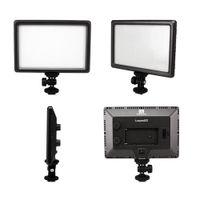 adapter camcorder - Nanguang Pro Ultra Thin LED W Camera Video Light Pad Lamp K Hot Shoe Adapter for Canon Nikon DSLR DV Camcorder D1336
