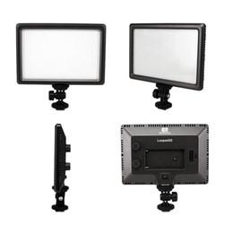 Wholesale Nanguang Pro Ultra Thin LED W Camera Video Light Pad Lamp K Hot Shoe Adapter for Canon Nikon DSLR DV Camcorder D1336