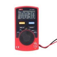 analog ammeter - Professional UNI T UT120C Pocket Size Type Mini Digital Multimetro LCR Meter Ammeter Multitester Analog Multimeters Tester H11423