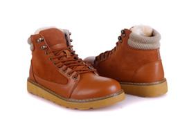 Wholesale 2014 mens shoes IVG leather shoes fur shoes winter shoes shoes men shoes sports on Christmas lace up shoes casual shoes shoes