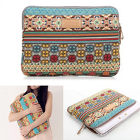 Wholesale 15inch Bohemia laptop sleeve case Pop fashion computer bag notebook for MacBook z