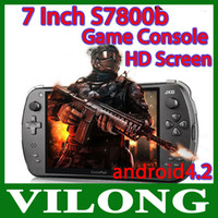 Wholesale new Newest Tablet PC Android Game Pad S7800b quot HD Touch Screen GB RAM GB Rockchip Quad Core Dual Camera