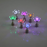 led glow products - Led Glowing Earrings Flower Shape Patent Products Quality Assurance Long term Inventory
