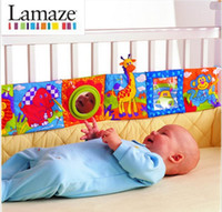 Wholesale lamaze multifunctional fun bed around multi colored baby cloth books bed bumper baby toy CM