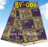 Wholesale Classical pure cotton african real super printed wax batik fabric with