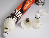 Wholesale Free EMS shipping the cheap EMS top class duck feather shuttlecock badminton shuttlecocks for international competition