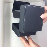 Wholesale Luxury PU imitation leather black watch box