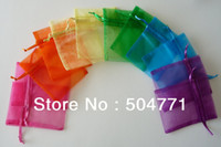 move free - Organza Bags x9cm Christams Wedding Gift Bags Jewlery Bags Gift packing Pouches mix random colors