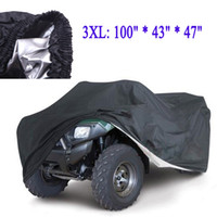 Wholesale Universal Size L XXL Quad Bike Waterproof Car Covers ATV Cover Parts Vehicle Tractor Motorcycle Resistant Dustproof Anti UV
