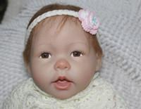 Unisex Birth-12 months Vinyl 18 inch Reborn Baby Dolls Hot fashion russian Lifelike Baby Toys 45cm Silicone vinyl Toys Matryoshka Doll