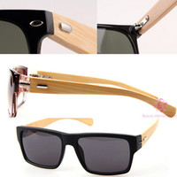 bamboo cooler - 2014 fashion bamboo sunglasses men women ourdoor vintage sunglasses summer retro Drive cool wooden glasses eyewear